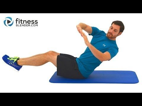 8 Minute Abs Workout - Quick Abs and Obliques Workout