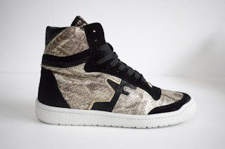 SERAFINI San Diego Basket Python Black Carryover High Kicks