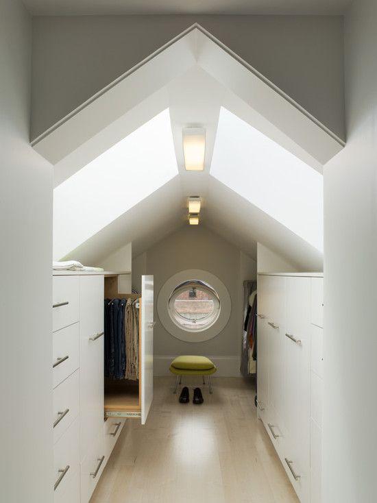 Attic Closet Design, Pictures, Remodel, Decor And Ideas