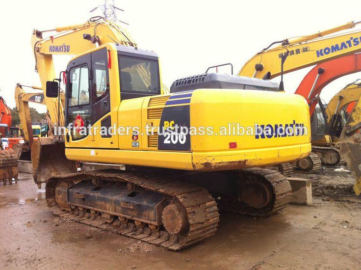"""New Excavator Komatsu PC200 Price, Japan Excavator Komatsu PC200-7 for sale#new excavator komatsu pc200 price#komatsu"""