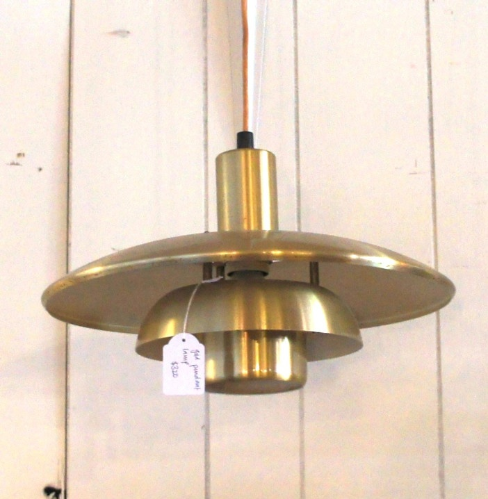 Copper Danish light