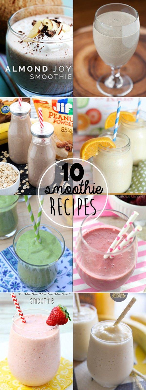 10 Smoothie Recipes