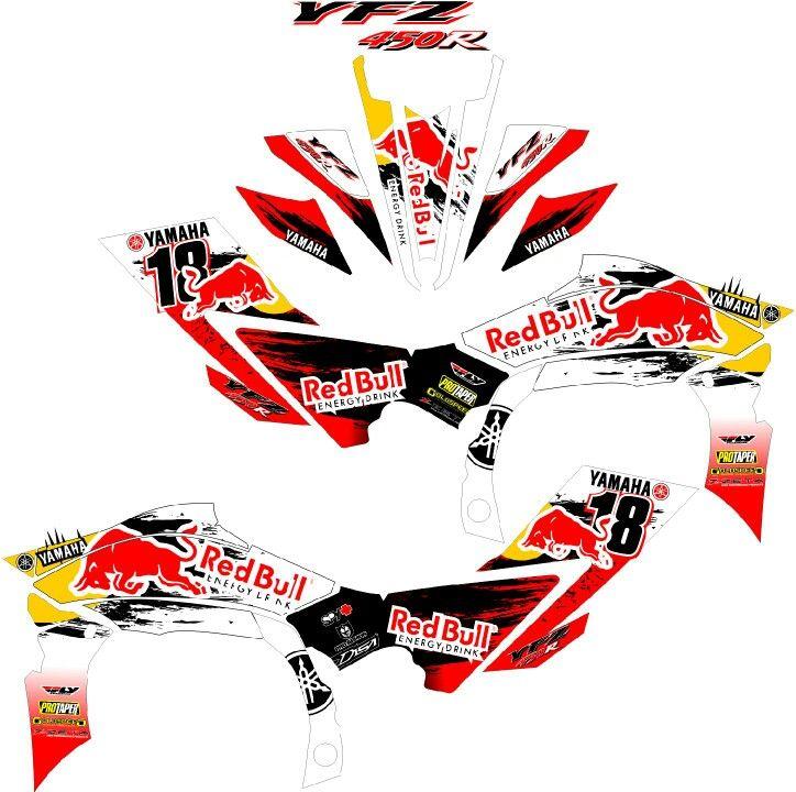 Ktm Atv Red Bull Graphics