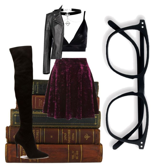 """bookworm"" by oliviasjstad on Polyvore featuring Topshop and Boohoo"