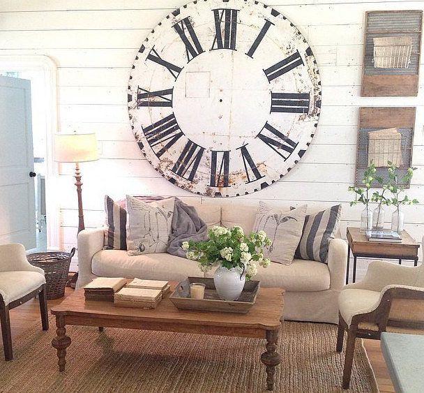Urban Farmhouse Family Room Makeover |