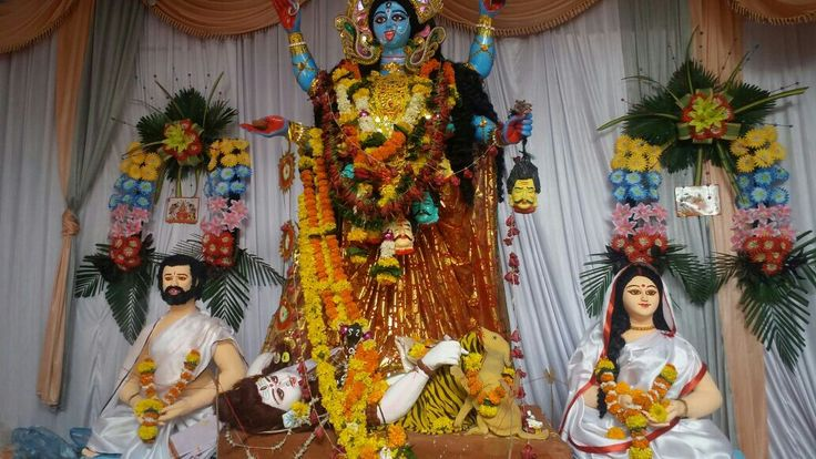 Kali puja appear in the month of kartik
