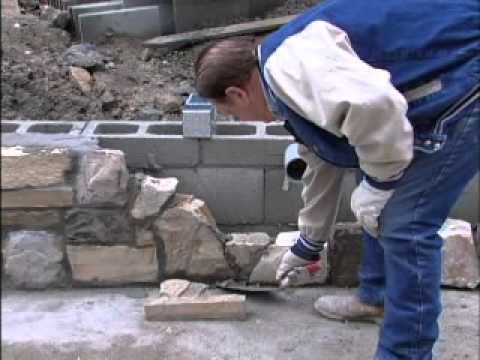 Building a Stone Wall - YouTube
