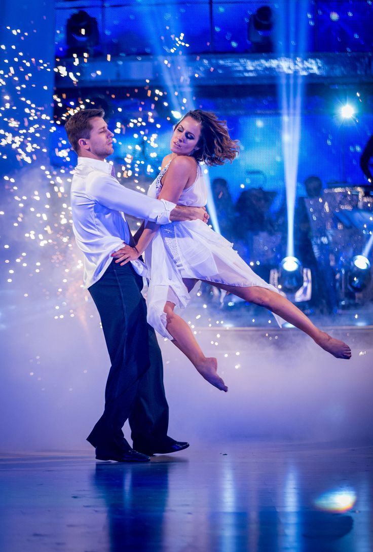 Strictly Come Dancing 2014: The Final - Pasha Kovalev and Caroline Flack  . The winners of Strictly 2014