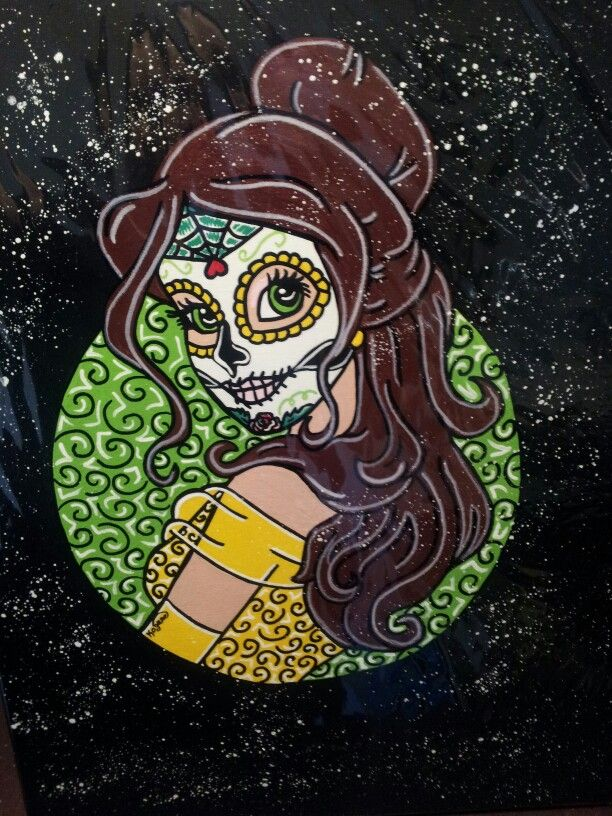 Belle Sugar Skull Princess ○Kitty OGane ( My Art )