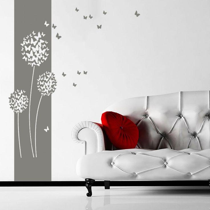 Die besten 25+ Wandtattoo günstig Ideen auf Pinterest - wandtattoo wohnzimmer retro