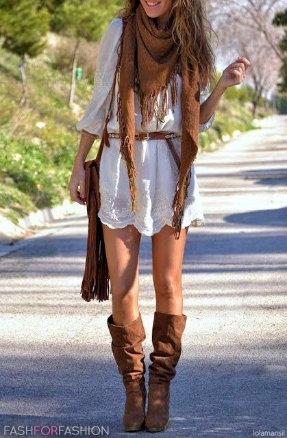 Top 5 Cute Hippie Chic Styles