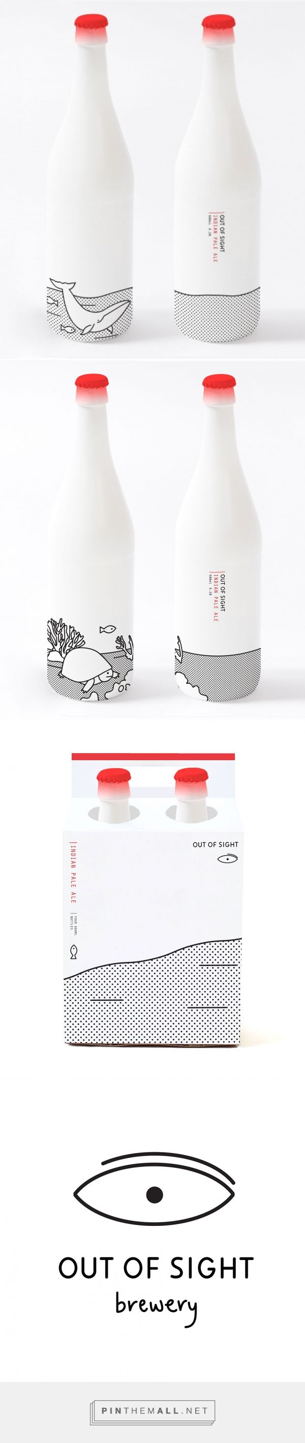 Out of Sight via Oh Beautiful Beer designed by Joanna Copperman curated by Packaging Diva PD. One for the packaging smile file : )