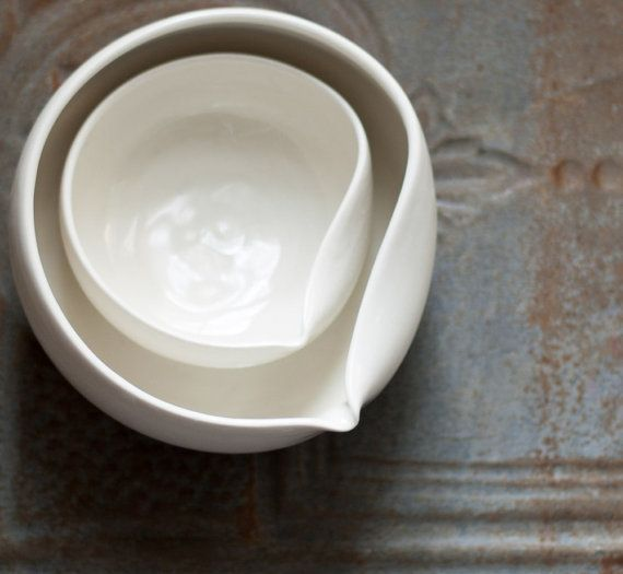 Modern Pour Bowls. Suite One Studio.