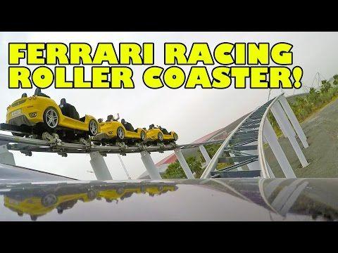 Fiorano GT Challenge Racing Roller Coaster Front Seat POV Ferrari World Abu Dhabi UAE - http://rollercoasterhq.net/fiorano-gt-challenge-racing-roller-coaster-front-seat-pov-ferrari-world-abu-dhabi-uae/