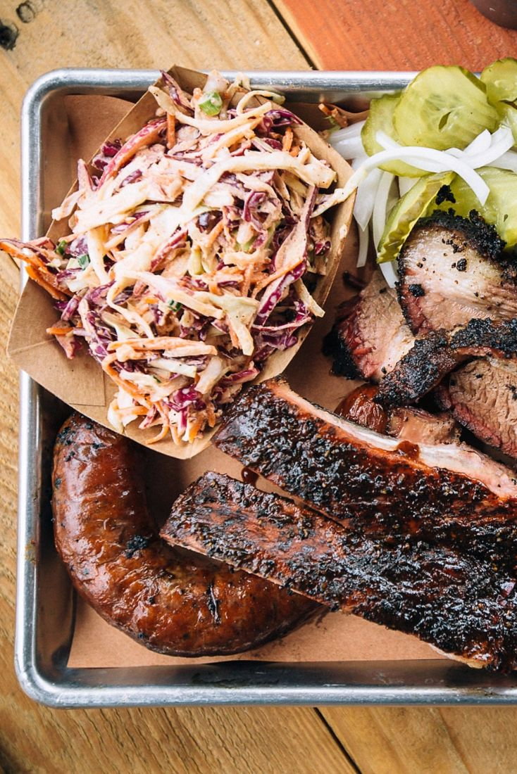 In Dallas, good barbecue is always a possibility for dinner