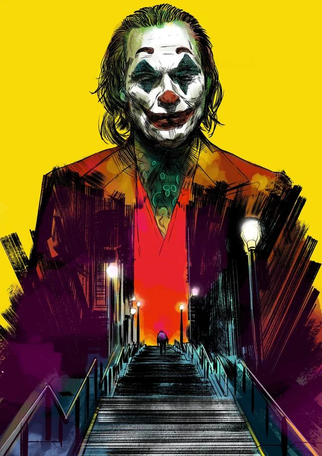 Pin by Alia Kearns on Joker images in 2020 Joker artwork