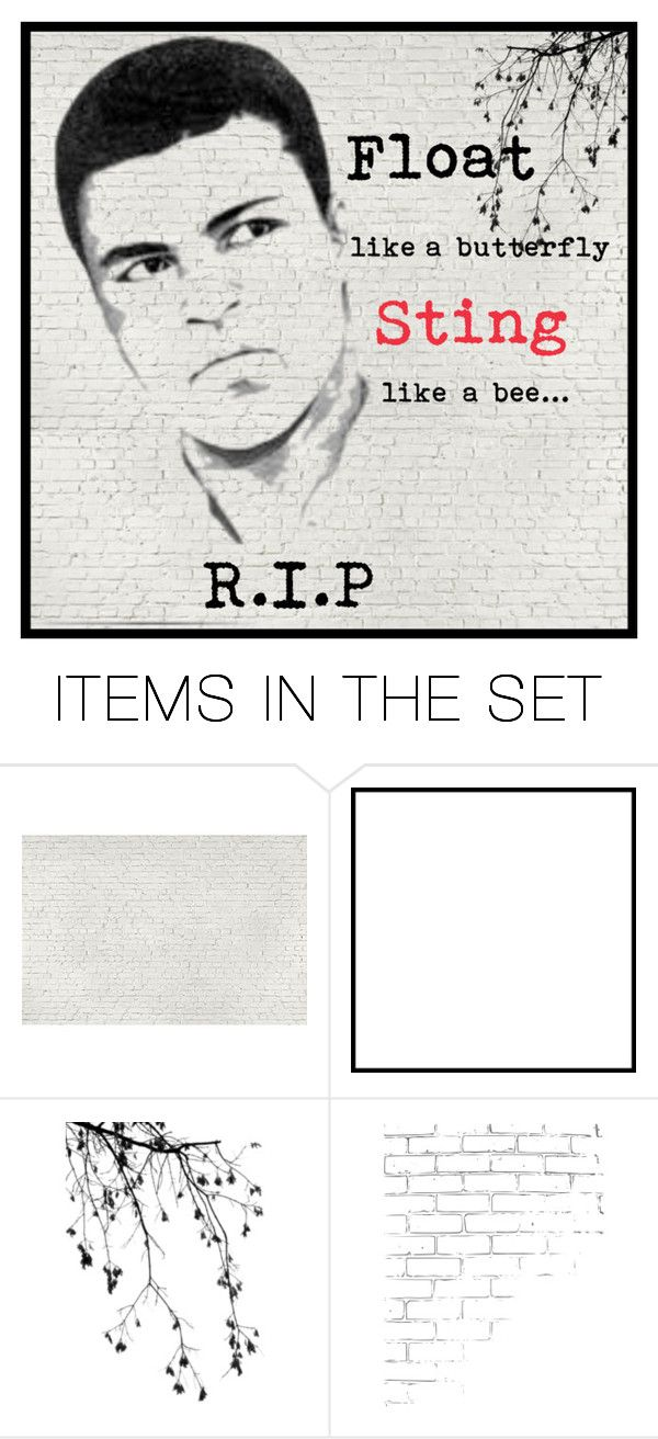 """R.I.P Mohamad Ali"" by han-pal ❤ liked on Polyvore featuring art"