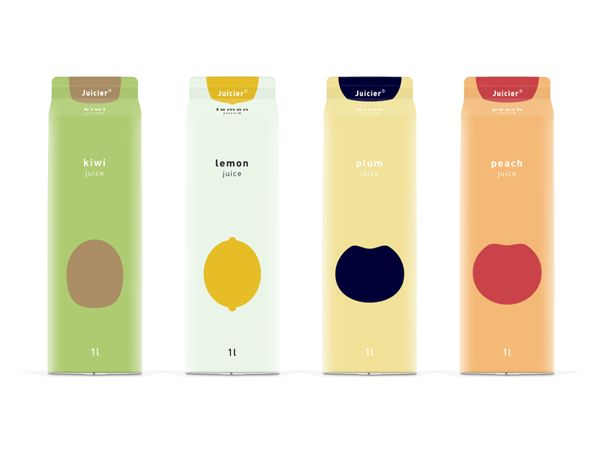 Jucier juice illustrations by Guilherme de Bernardo S. #packaging #design