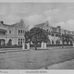 Old image of Collegiate School in Port Elizabeth, South Africa