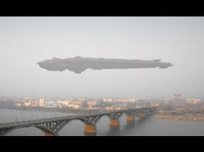 ▶ GIGANTIC UFO in Moscow Russia - YouTube