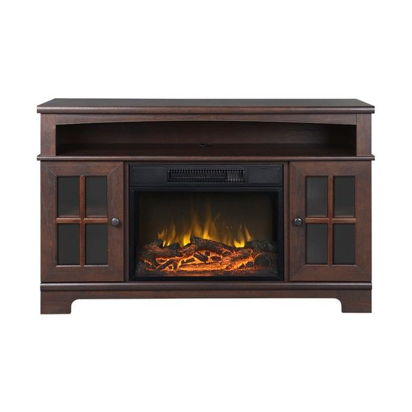 Zarate 44.5-inch Wide Media Fireplace