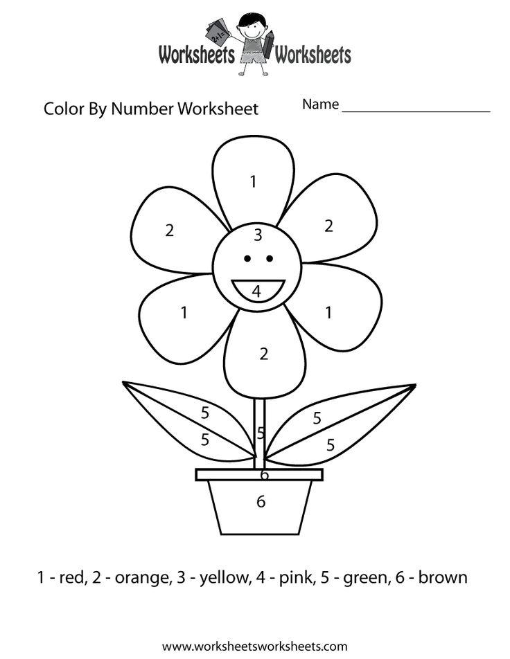easy-color-by-number-worksheet-printable