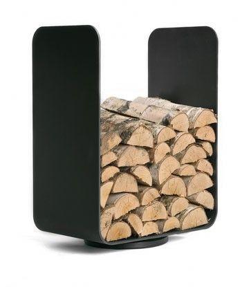 Luxurious Indoor Firewood Storage