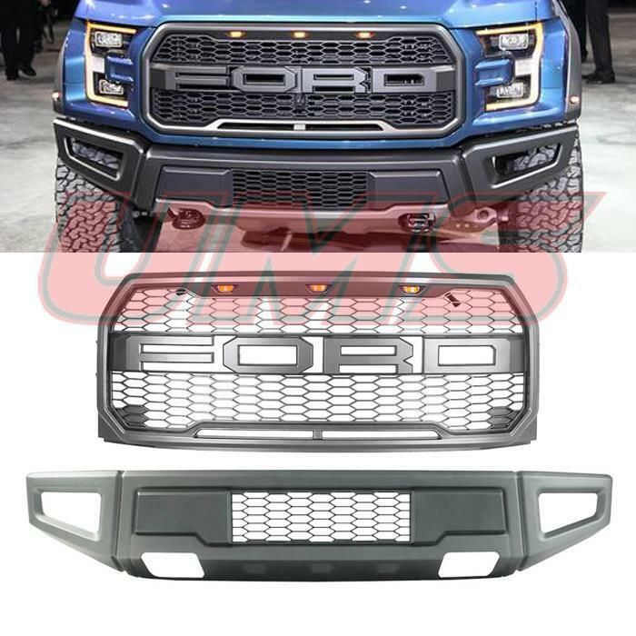 2015 2017 Ford F 150 Raptor Style Front Bumper Front Grille 2018