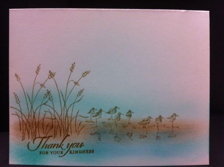 """Stampin' Up """"Wetlands"""" stamp set..."""