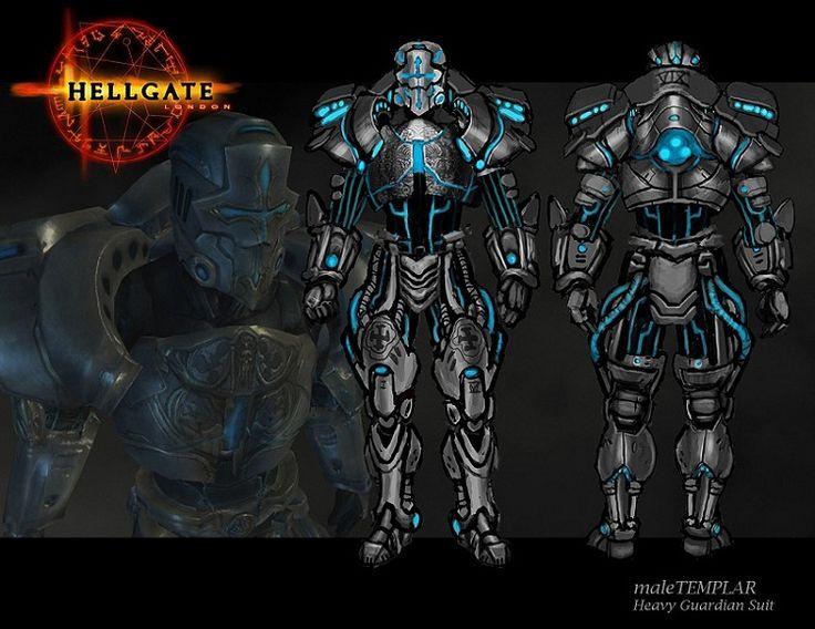 Hellgate London - Templar armor-Coolest suits of armor