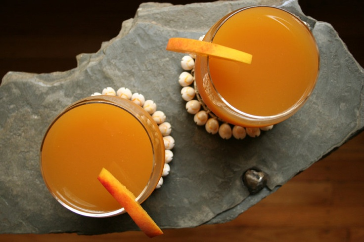 2012 Olympics Opening Ceremony Menu - For the Toast: Ginger Peach Beer Cooler