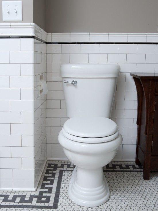Classic Subway Tile Bathtub Surround