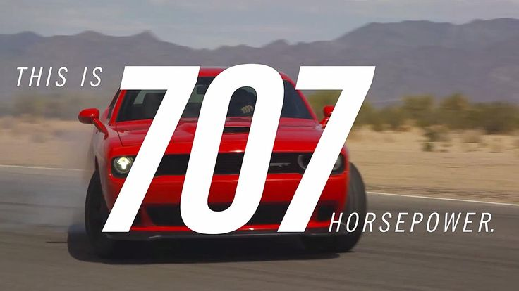It's official: The SRT Hellcat engine makes 707 hp