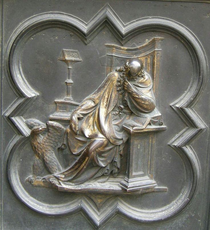 Porta Nord del Battistero di Firenze.  San Giovanni.  1407-1424