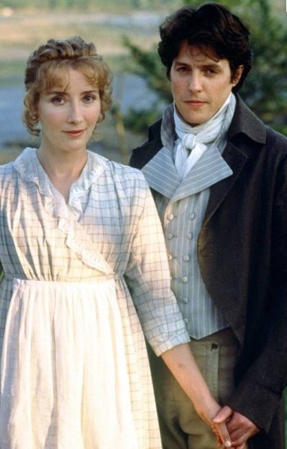 Emma Thompson and Hugh Grant, 'Sense and Sensibility' (1995). The film is set in southwest England from 1792-1797.