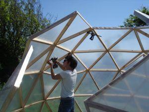 geodesic greenhouse dome