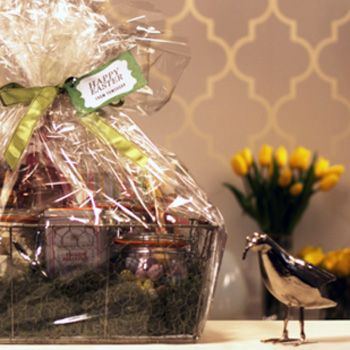 The 25 best easter gift baskets ideas on pinterest easter theres nothing childish about this elegant easter basket negle Gallery