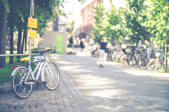 Bikes by LarisaDeac on @creativemarket