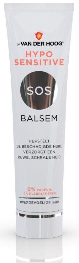Dr. van der Hoog - Hypo Sensitive Sos Balsem. Een product wat ik nog niet zo lang gebruik, maar al langere tijd benieuwd naar was. Een heel fijn product, waar een klein beetje al wonderen doet. Ik smeer het op mijn lippen, maar droge plekjes op mijn handen zijn ook geschikt.