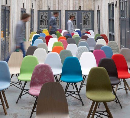 Colourful chairs by Spoinq #dutch #design