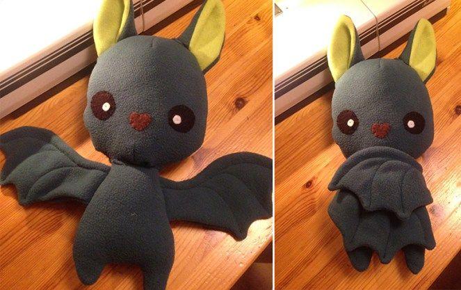 Bat plush - Deutsche Anleitung (Diy Baby Christmas)