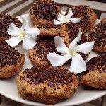 Veganistische koekjes met havermout en chocolade