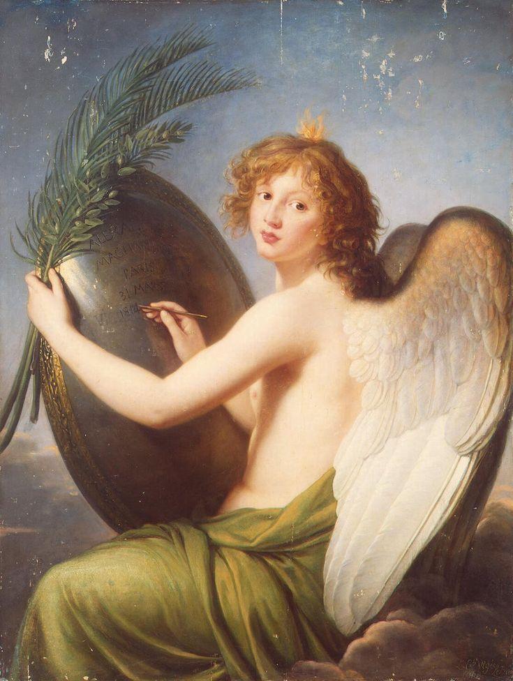 Genius of Alexander I by Elisabeth Louise Vigee Le Brun: