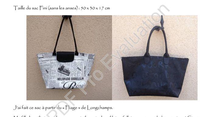 Et un tuto pour un sac facile et pratique ! Bonne couture.