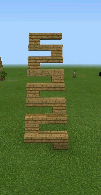 Minecraft stair design