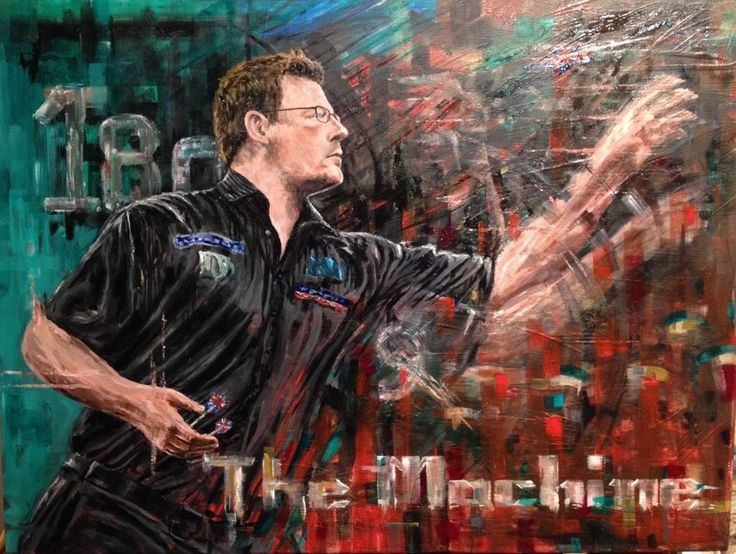 James Wade Painted oil on canvas  Size 60x40cm