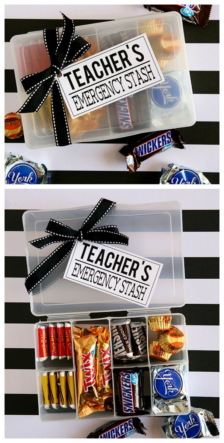 Teachers Emergency Stash | Back To School Teacher Gift