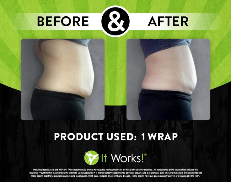 Amazing results after just 1 body wrap by It Works!  Order yours today: http://www.theultimatecrazywrap.com/ultimate-body-applicator.html