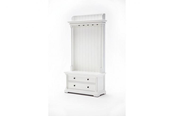 RUMO Hallmöbel 100 Vit i gruppen Inomhus / Förvaring / Hallmöbler hos Furniturebox (220-10-160956)