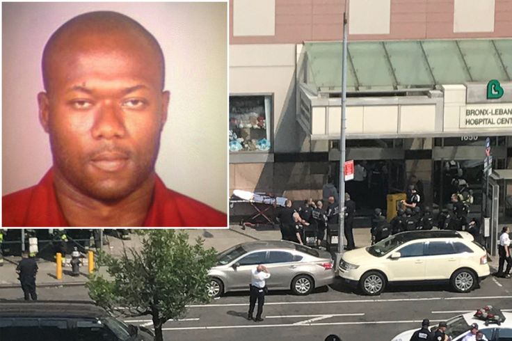 A man in a white lab coat used an M16 assault rifle to open fire on multiple floors of a Bronx hospital where he used to work Friday afternoon, killing one woman and injuring five others, law enfor…